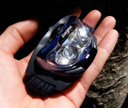 エナジャイザー 3LED ヘッドライト1